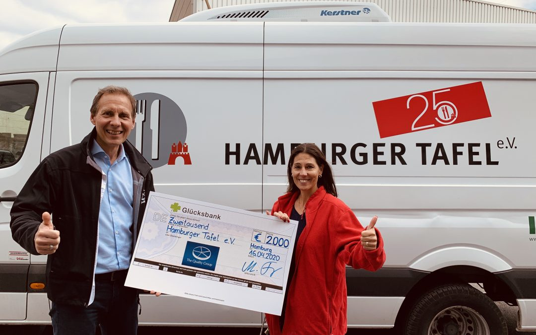 The Quality Group Lottery Solutions GmbH (TQG-LS) renewed donation for social institution