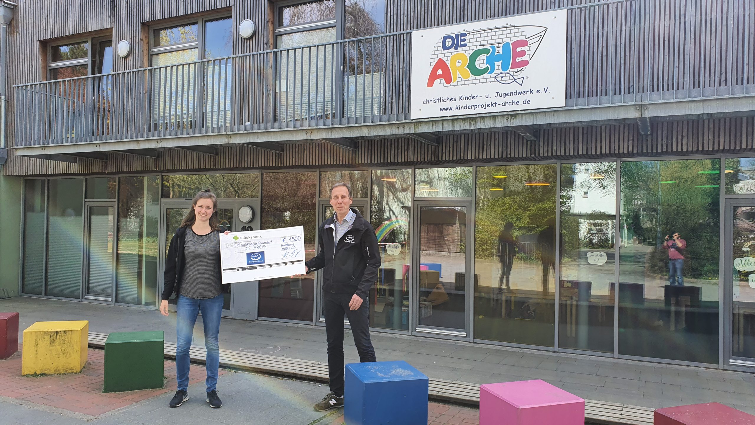 The Quality Group Lottery Solutions GmbH (TQG-LS) spendet € 10.000,– für soziale Einrichtungen