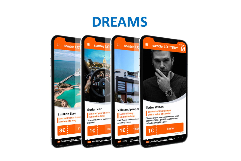 samble – das tägliche Spielangebot für Smartphone-User*innen!
